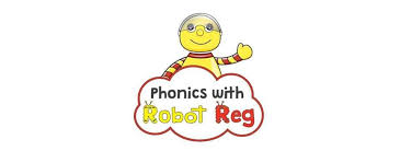 Phonics With Robot Reg's logo