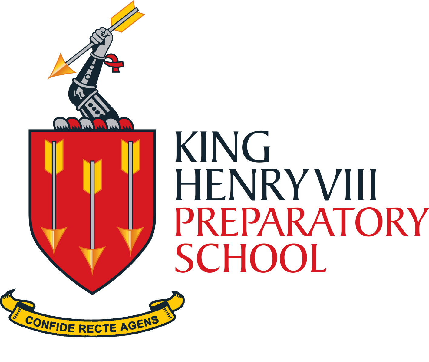 King Henry VIII Preparatory School's logo