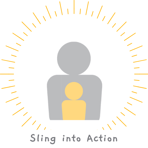 Sling into Action's logo