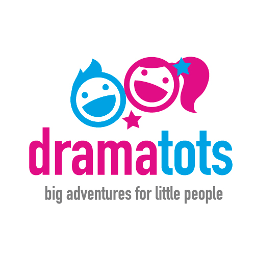 Drama Tots Rugby and Lutterworth's logo