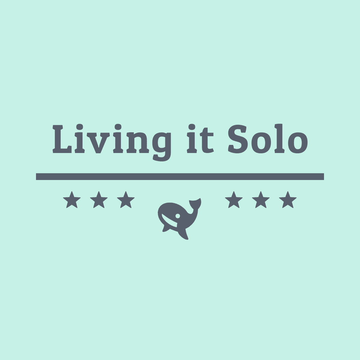 Living it Solo's logo
