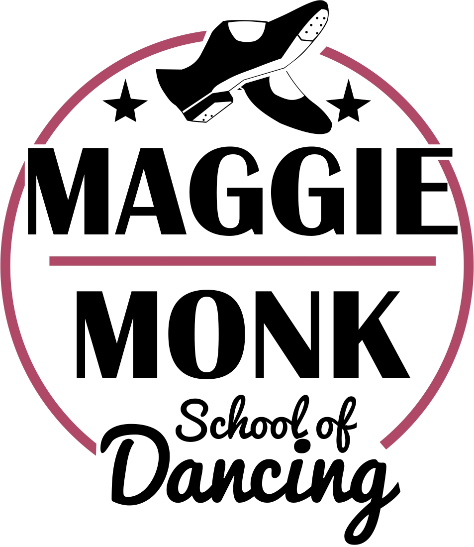 Maggie Monk School of Dancing's logo