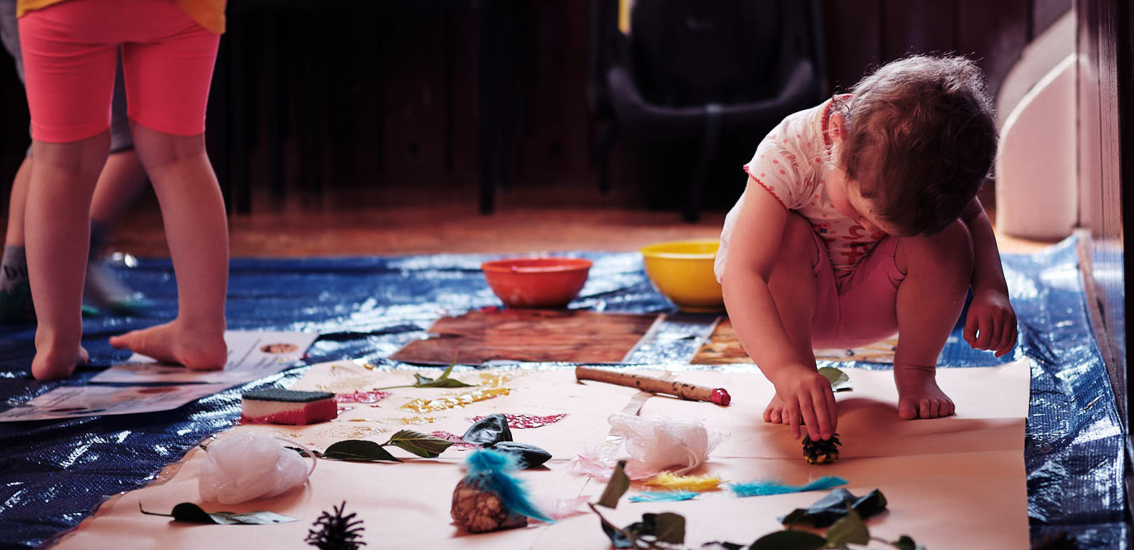 Mini History Hunters: Messy and Sensory Classes's main image