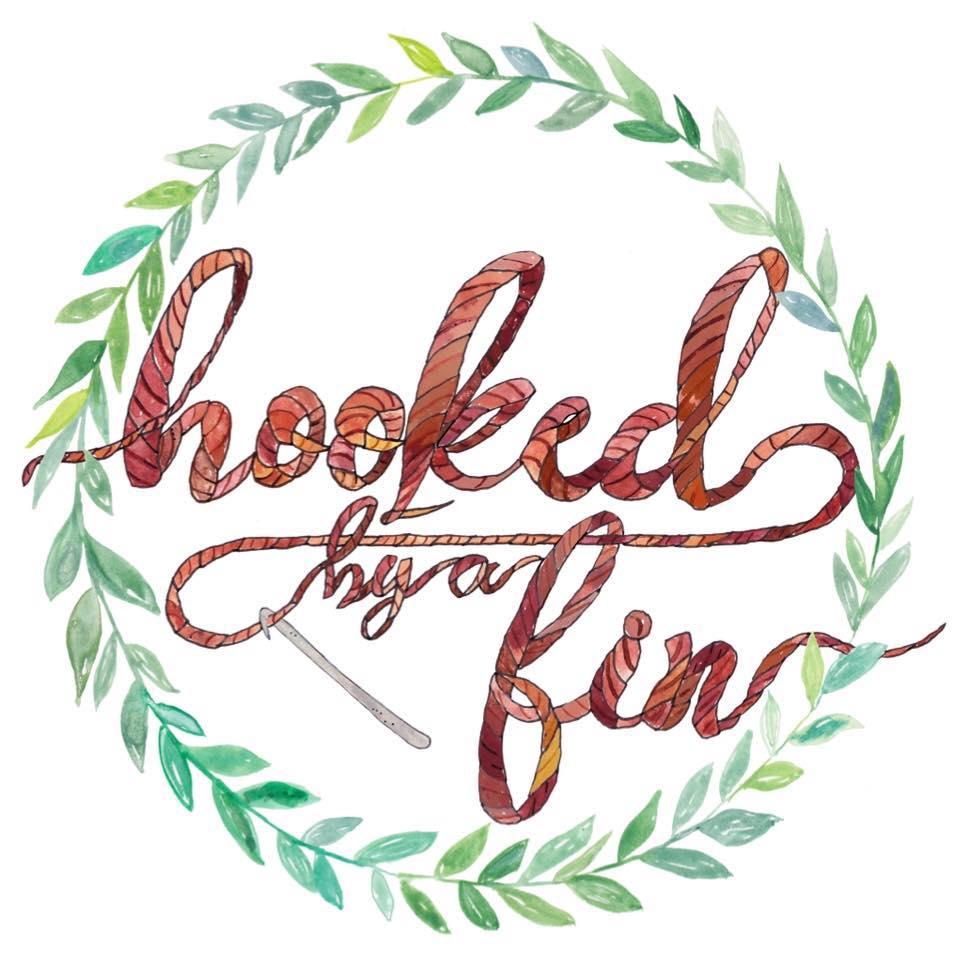 Hooked by a Fin's logo