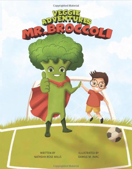 Mr Broccoli - Veggie Adventures Book 1's logo
