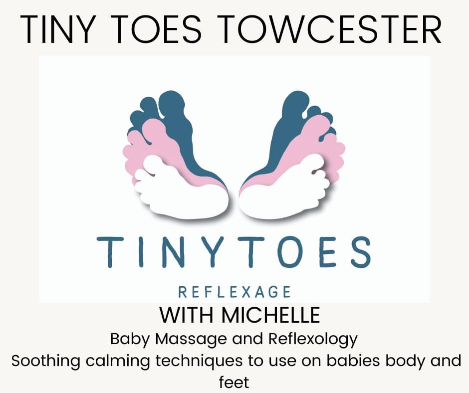 Tiny Toes Towcester with Michelle 's logo