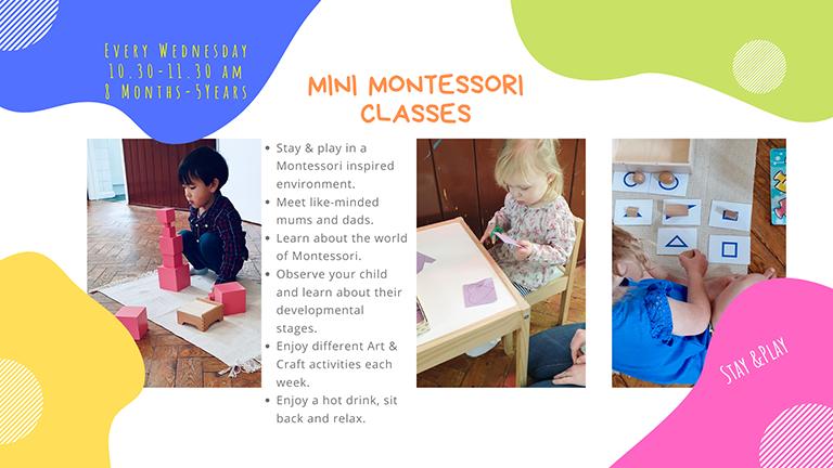 Mini Montessori Classes's main image