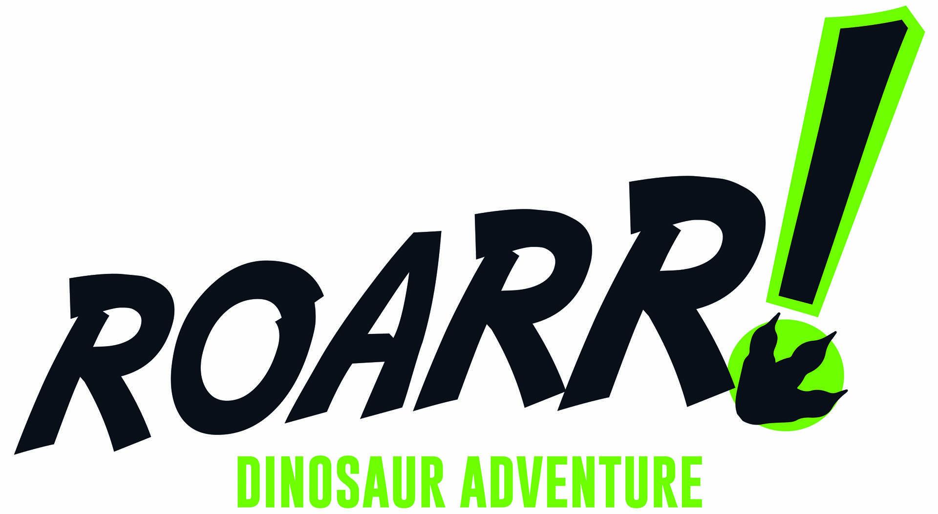 Roarr! Dinosaur Adventure's logo