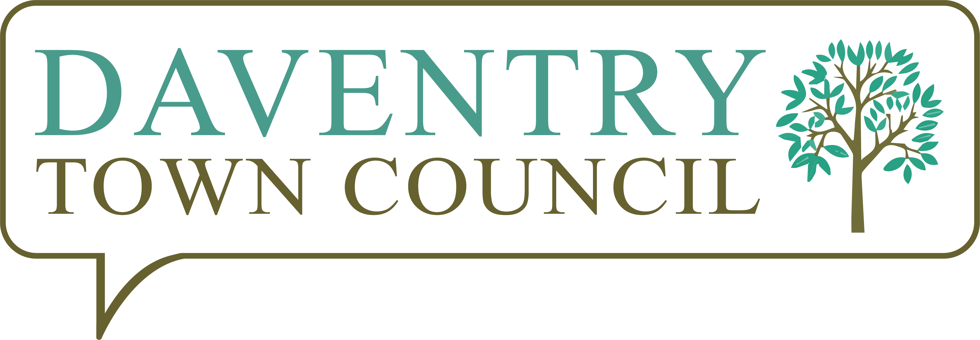 Daventry Town Council's logo