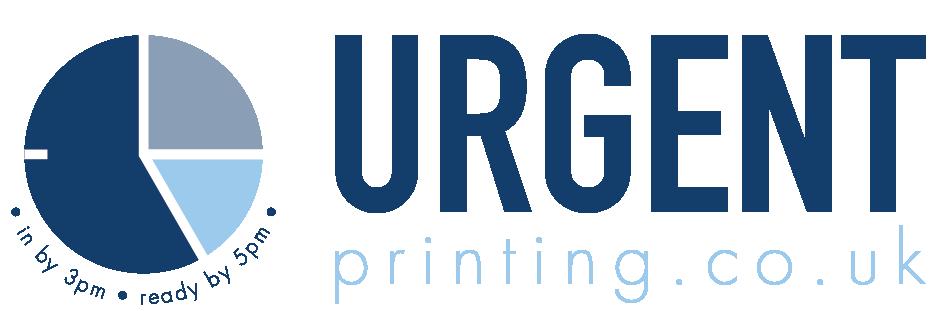 Urgent Printing's logo