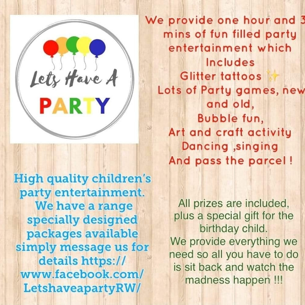 Let's have a party's logo