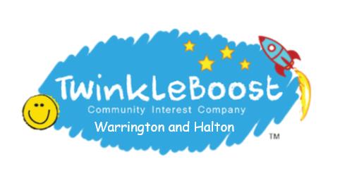 Twinkleboost Warrington and Halton's logo