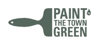 Paint the Town Green's logo