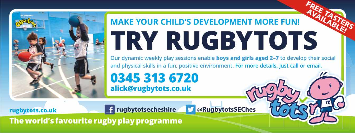Rugbytots SE Cheshire & Staffordshire Moorlands's main image