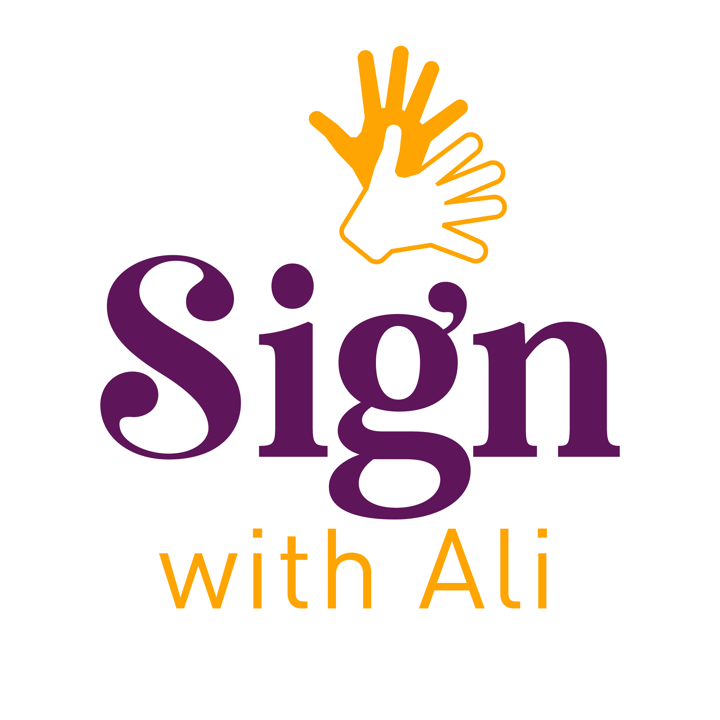 Sign with Ali 's logo