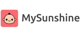 MySunshine Parenting Journal App's logo