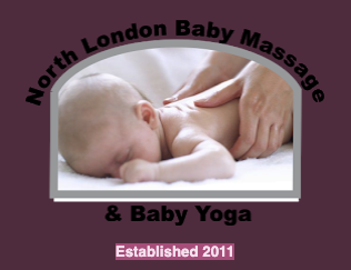 North London Baby Massage and Baby Yoga's logo