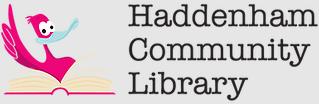 Haddenham Community Library's logo