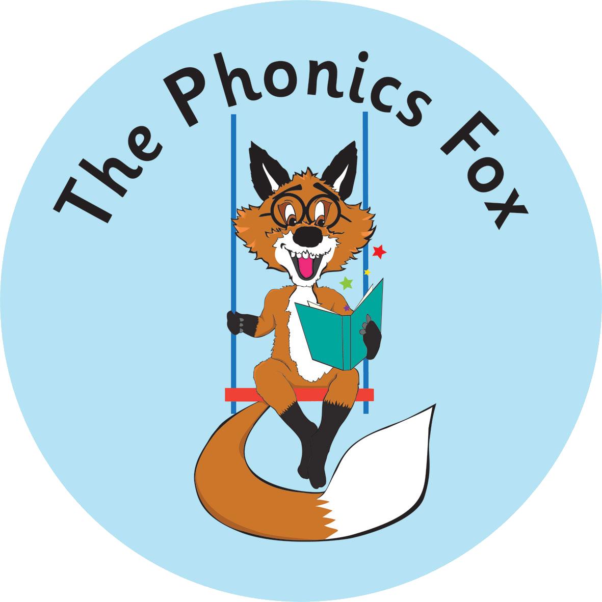 The Phonics Fox- North Bucks, South Northants and North Oxon's logo