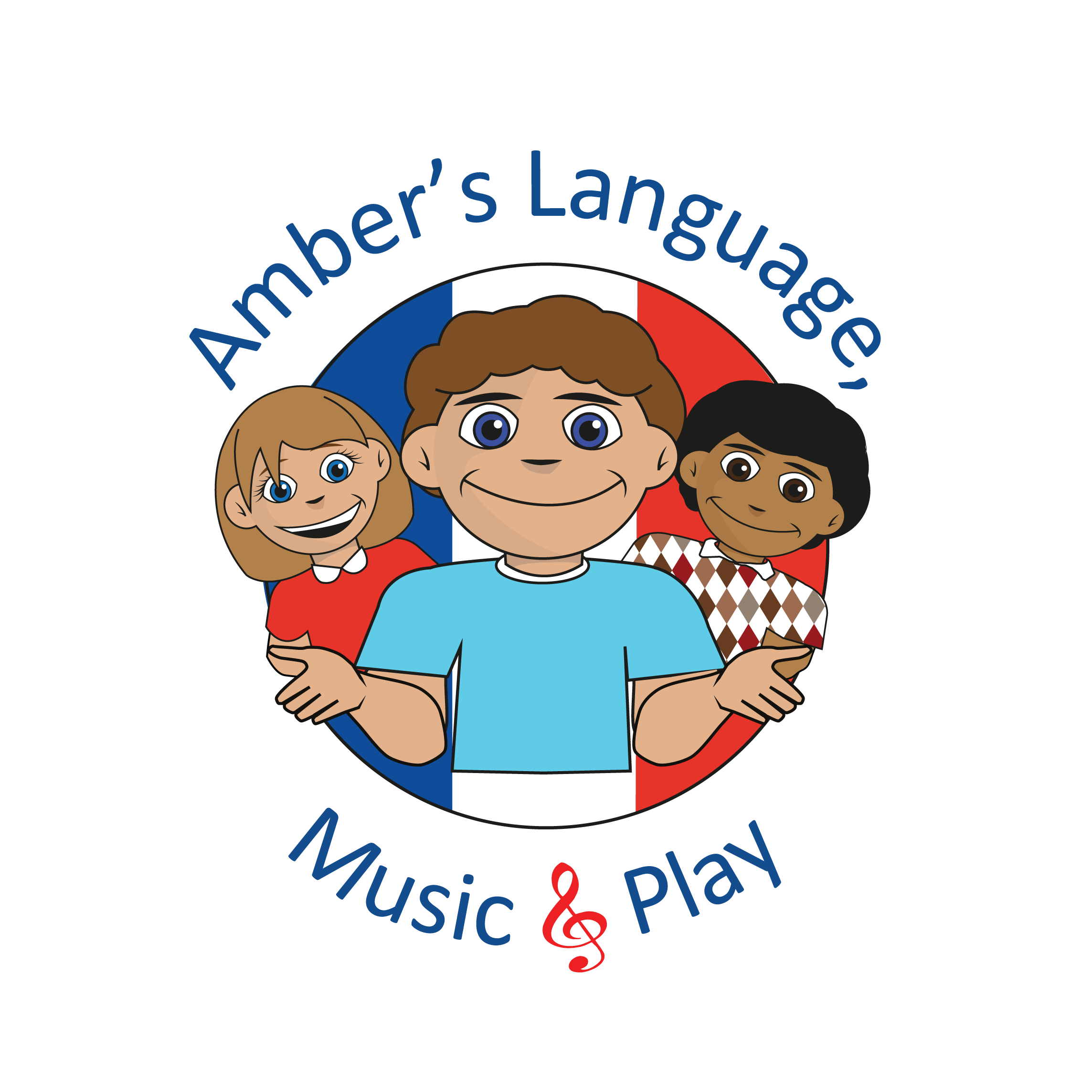 Amber's Language, Music & Play's logo