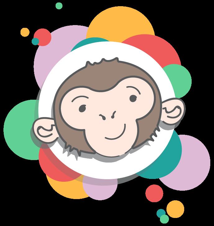 Cha Char Chimps CIC's logo