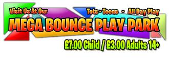 Mega Bounce Play Park's logo