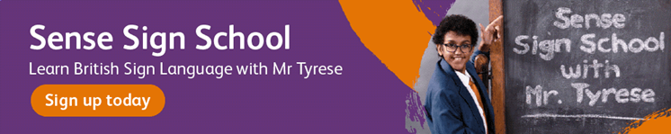 Sense Sign School - British Sign Language lessons with Tyrese's main image