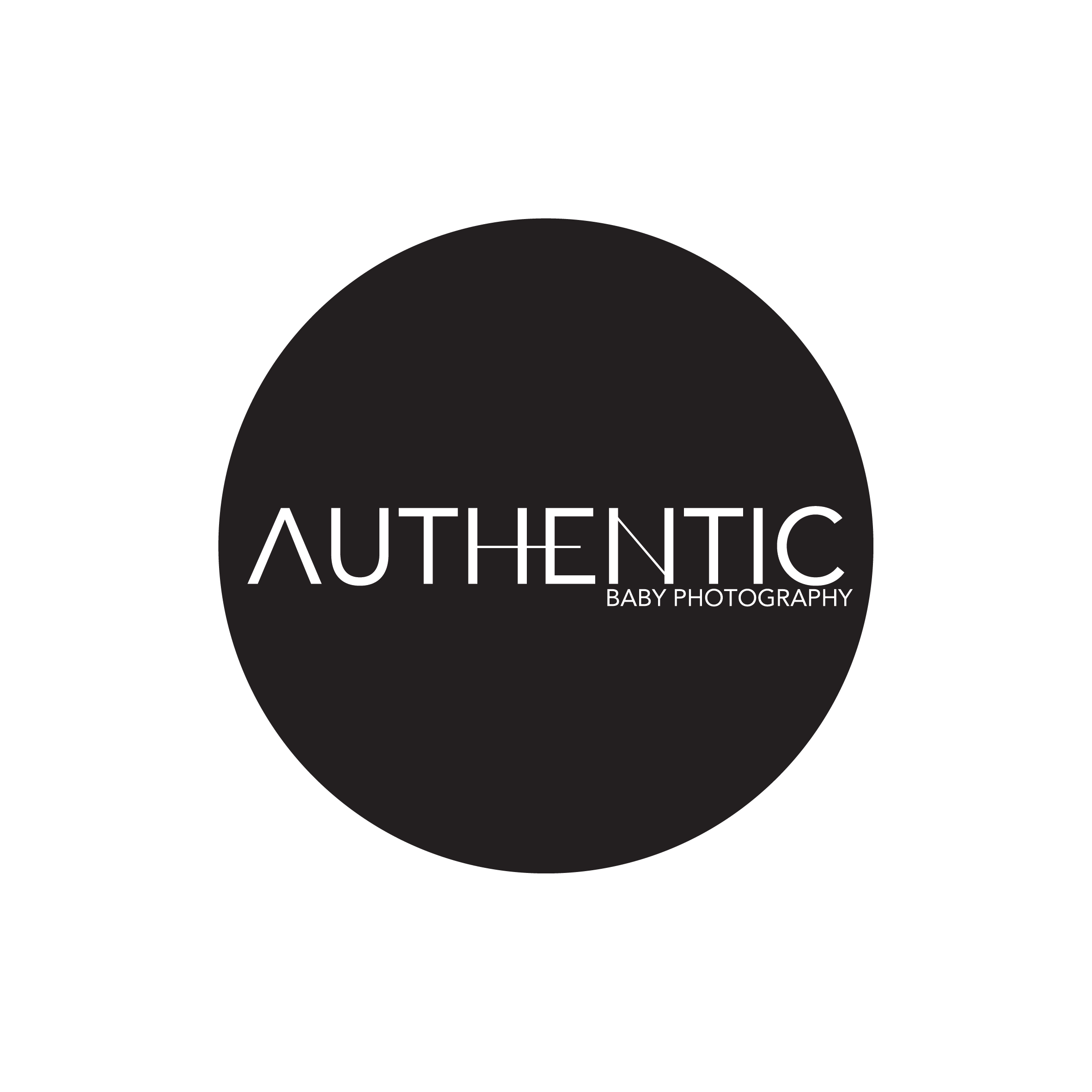 Authentic Baby Photography's logo