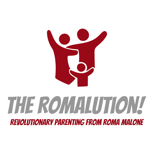 The Romalution Parenting 's logo