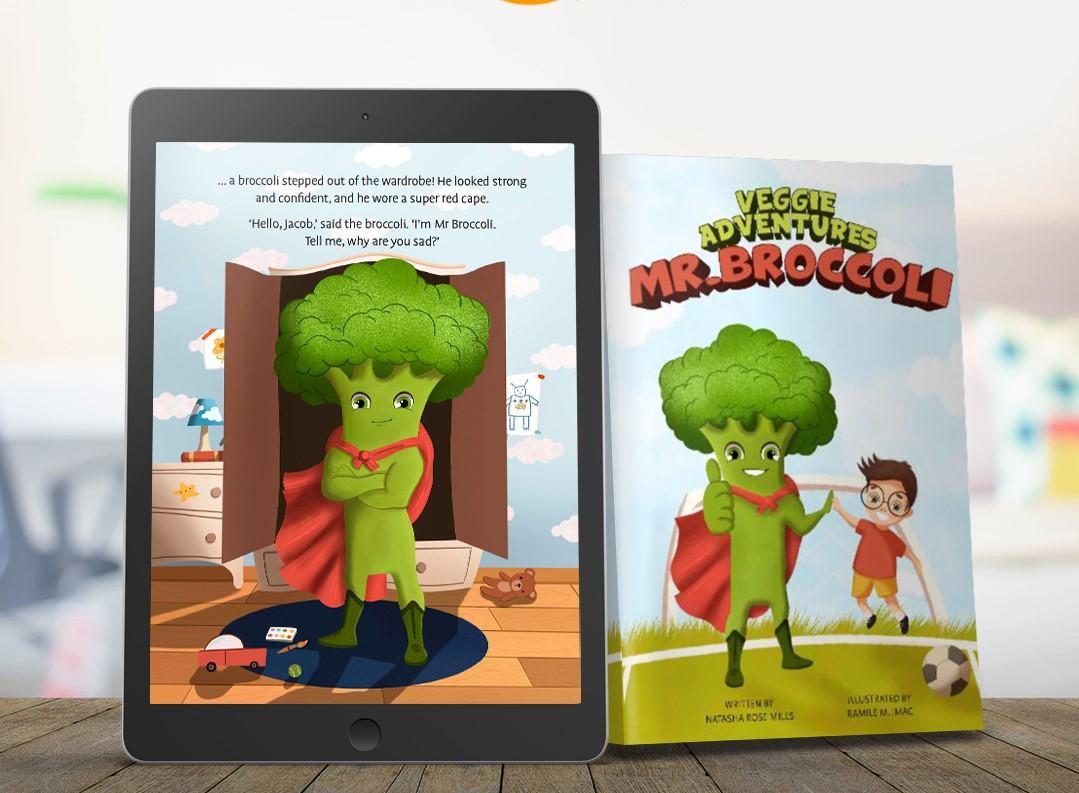 Mr Broccoli - Veggie Adventures Book 1's main image