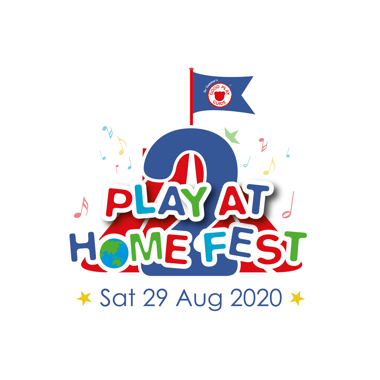 Play at Home Fest 2.0 's logo