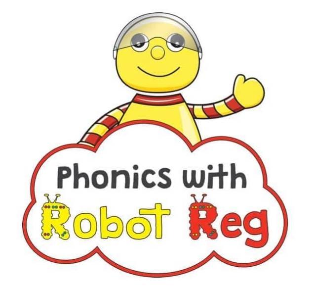 Phonics with Robot Reg Milton Keynes's logo