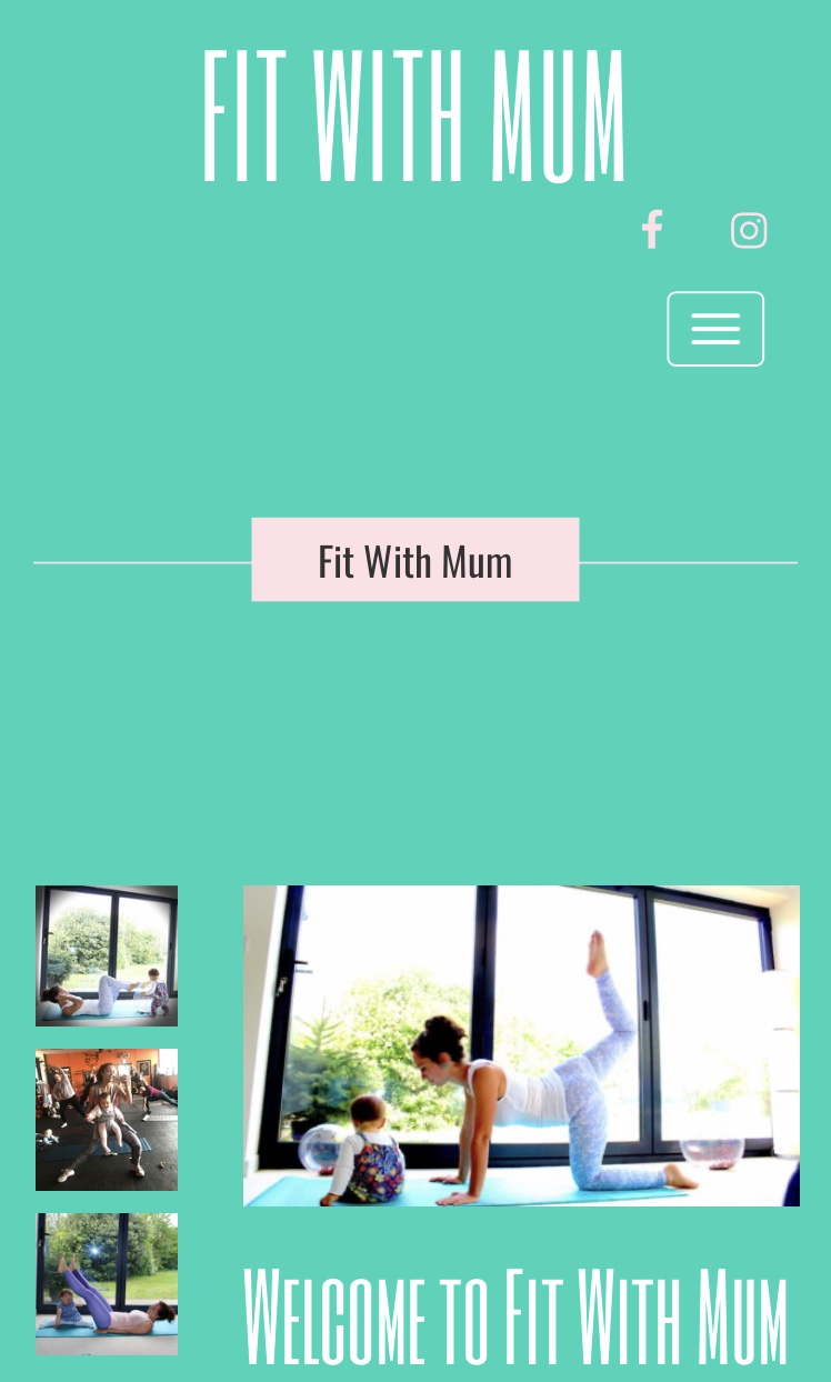 Fit with Mum's logo