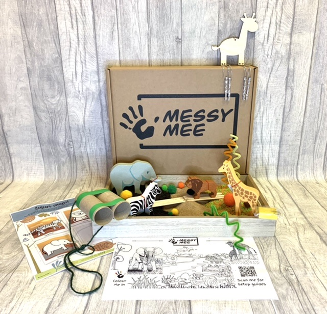 MessyMee - eco friendly fun messy play boxes's main image