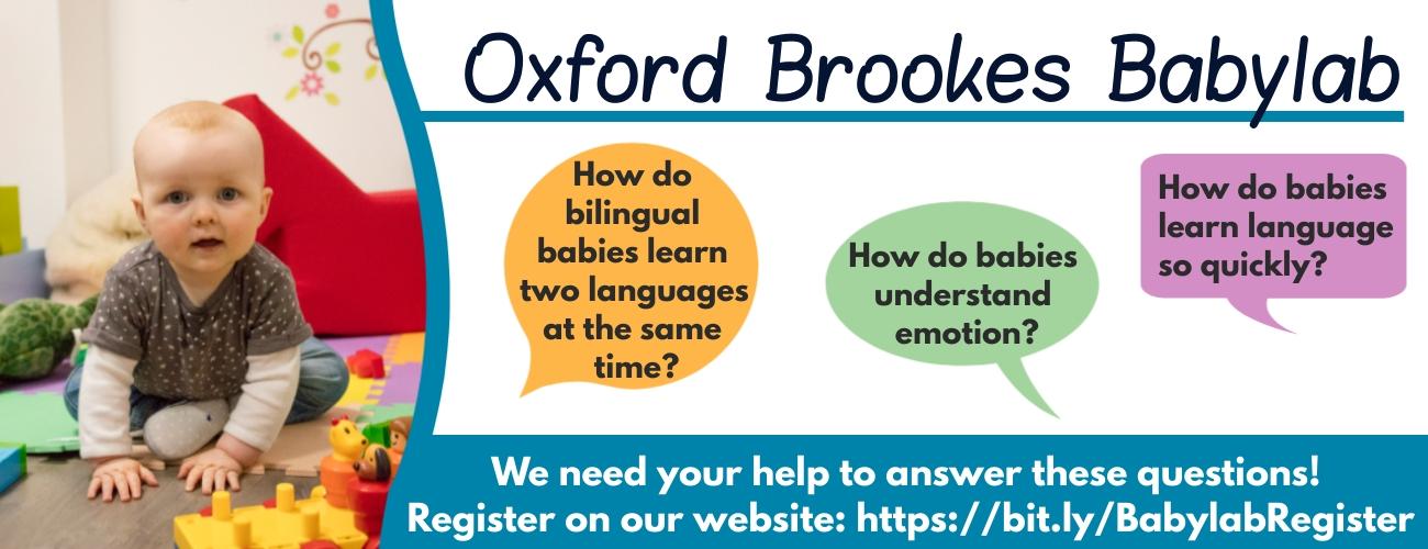 Oxford Brookes BabyLab's main image