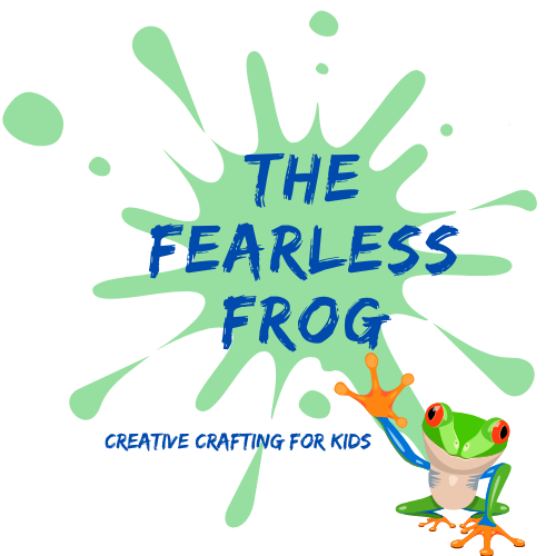The Fearless Frog's logo