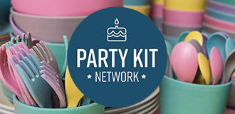 Party Kit Network's logo