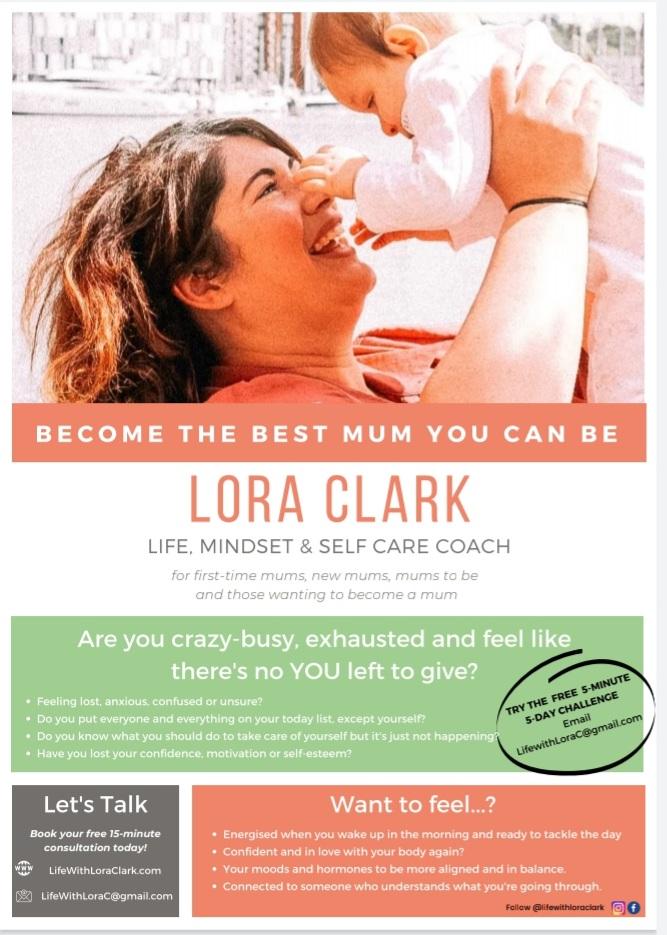 Life With Lora Clark - Life, Mindset & Selfcare Coach's logo