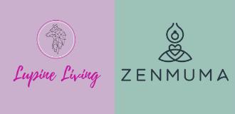 ZenMuma & ZenKids Yoga, from Lupine Living.'s logo