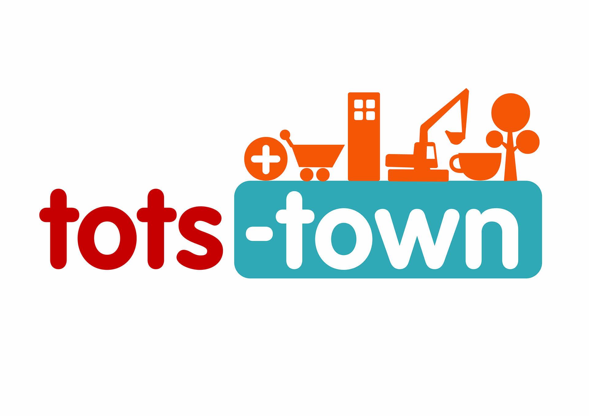 Tots Town's logo
