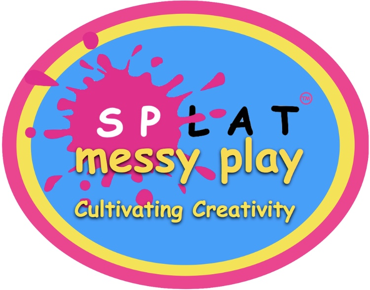 Splat Messy Play Oxford, Didcot and surrounding areas's logo