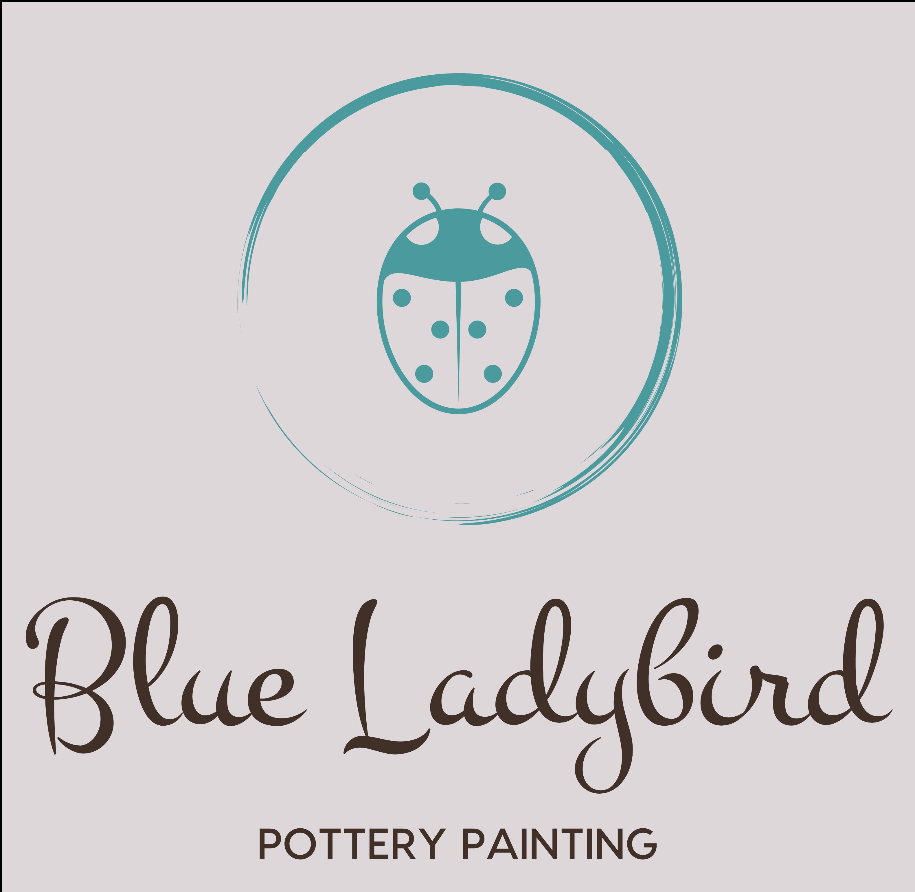 The Blue Ladybird Pottery's logo