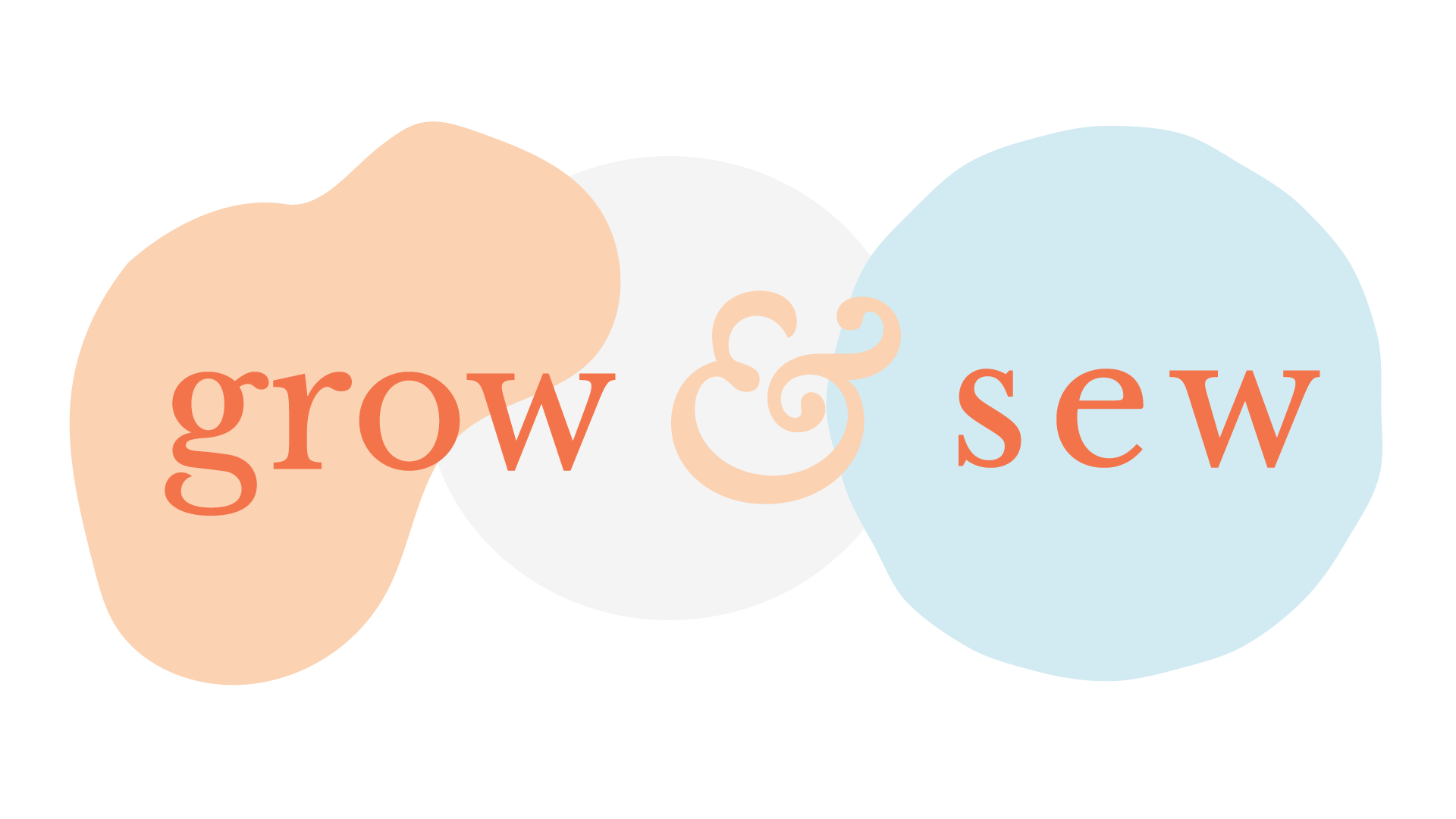 Grow & Sew's logo