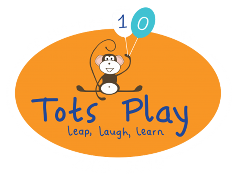 Tots Play in Rugby's logo