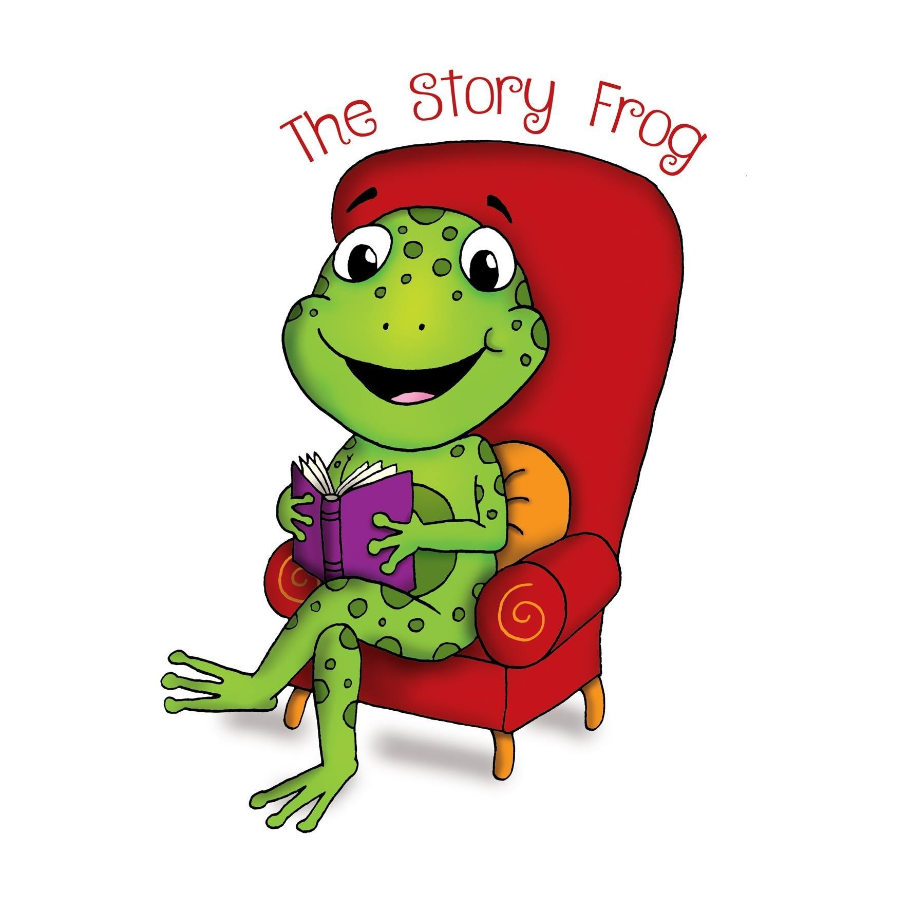 The Story Frog Oxford's logo