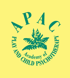 The Academy of Play and Child Psychotherapy's logo
