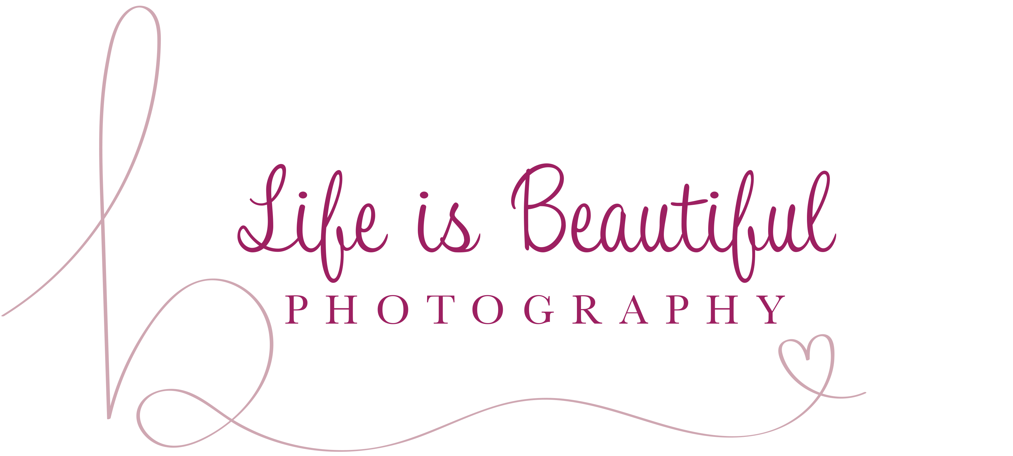 Life Is Beautiful Photography's logo
