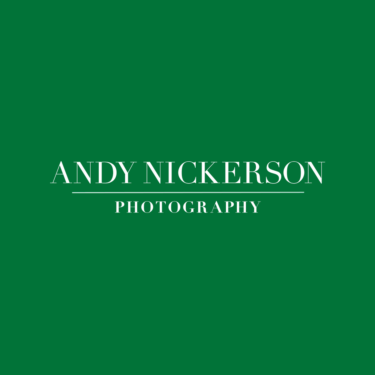 Andy Nickerson Photography's logo