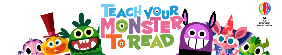 Teach Your Monster to Read's logo