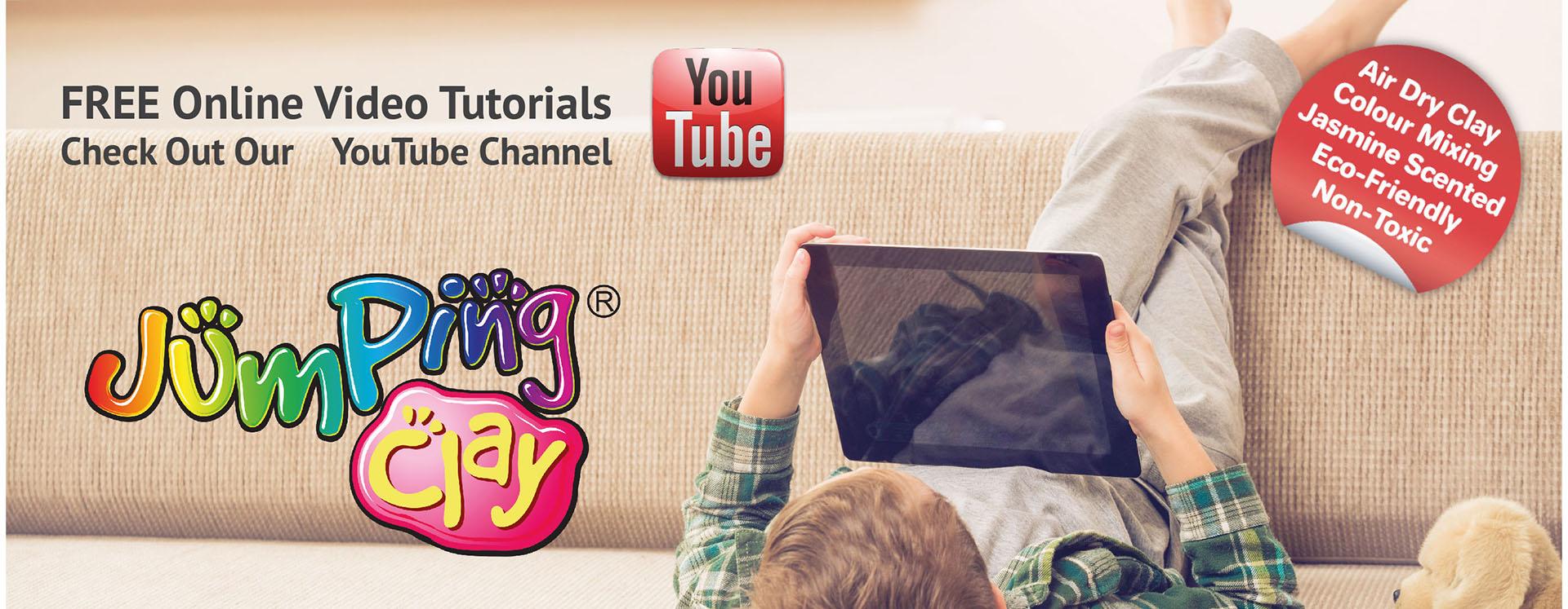 JumpingCLAY - The Kids Activity Company's main image